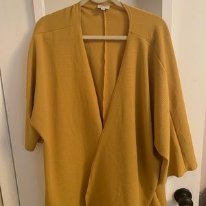 Mustard Colored Cardigan